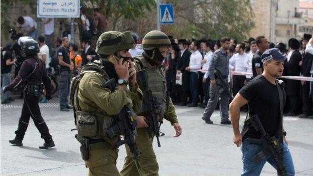 Seguridad israelí