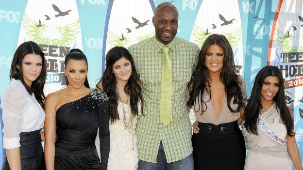 Lamar Odom y las Kardashians
