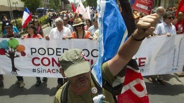 Marcha por la Constituyentte