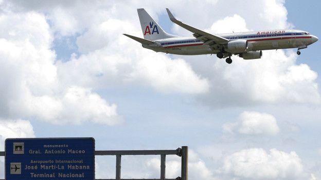 Avion en Cuba