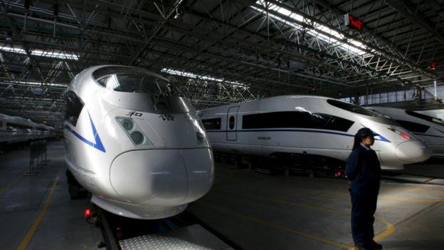 资料图片:中国制造高铁