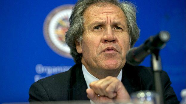 Secretario general de la Organización de Estados Americanos (OEA), Luis Almagro.