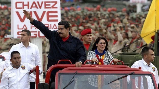 Nicolás Maduro, Cilia Flores