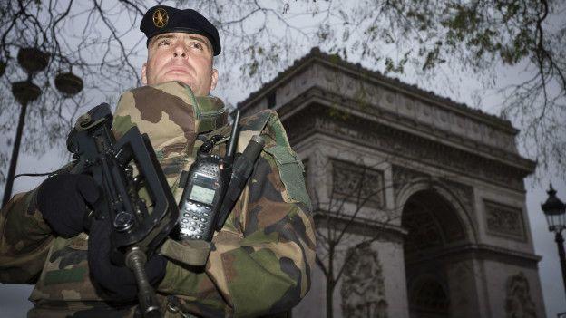 La vigilancia en París