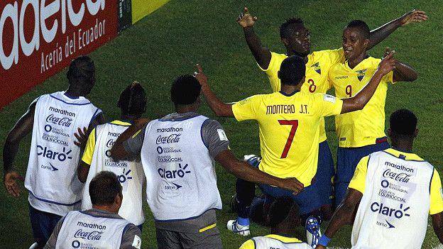 Ecuador logró 12 puntos