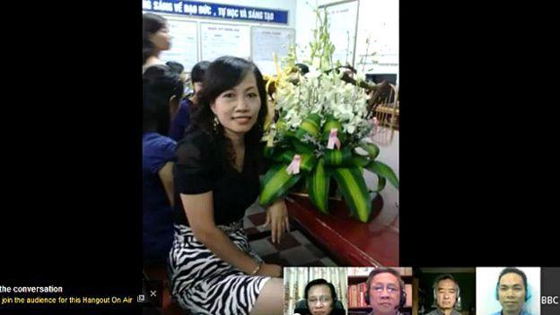 Cô giáo Nguyễn Thị Thanh Nhàn