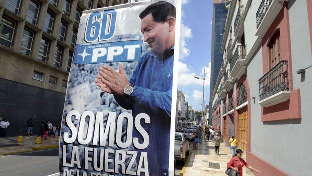 Afiche de Chávez