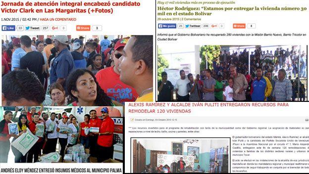 Ventajismo electoral en Venezuela