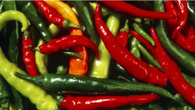 Unos chiles