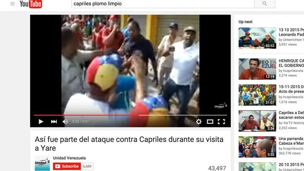 Youtube de la MUD