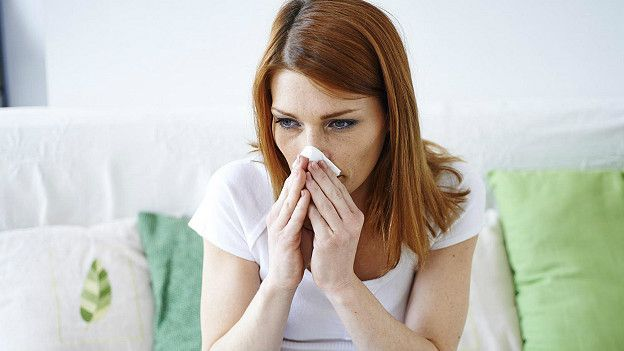 Страдающие аллергией люди могут с радостью ждать прихода