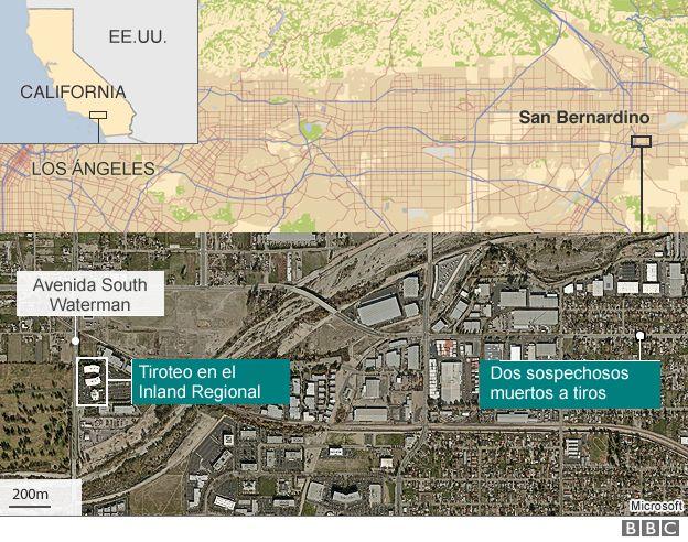Mapa San Bernardino
