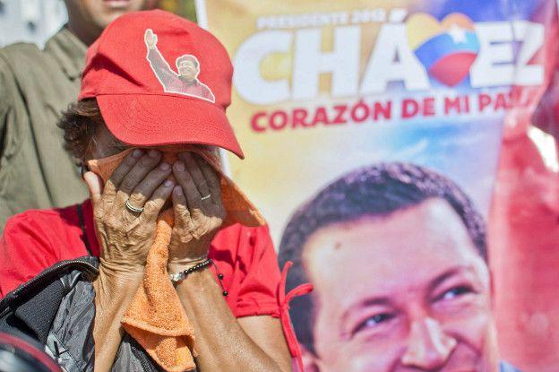 Nỗi buồn của những người ủng hộ đảng Xã hội do cựu lãnh đạo Hugo Chavez thành lập