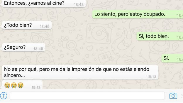 Intercambio por WhatsApp