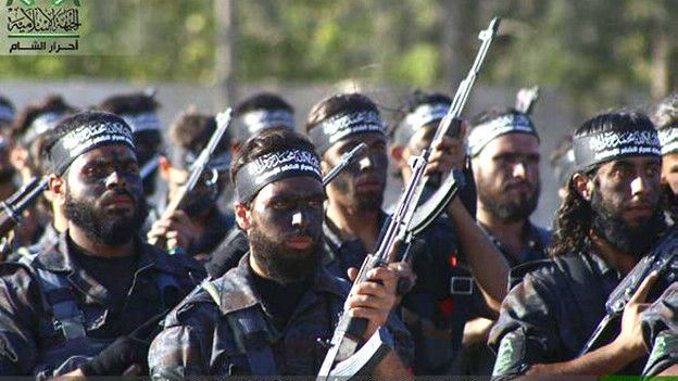 Боевики Ахрар аш-Шам