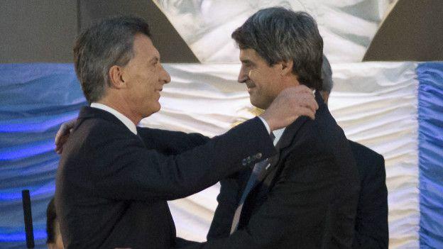Mauricio Macri y Alfonso Prat-Gay