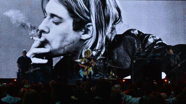 Un concierto en homenaje a Kurt Cobain