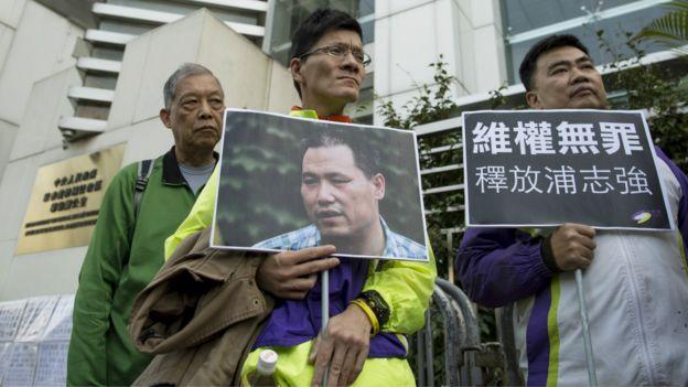 中国律师浦志强受审并判刑引发大量争议。