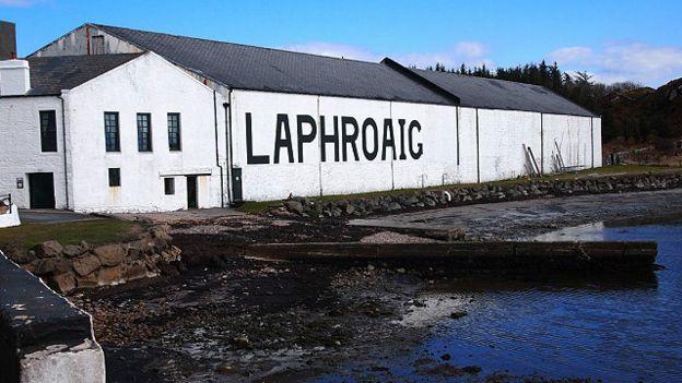 Винокурня Laphroaig