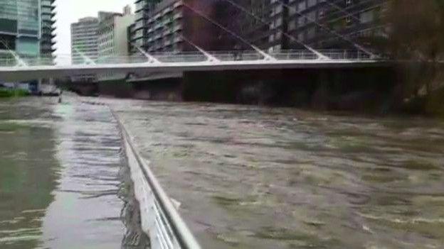 Река Ирвелл в Манчестере