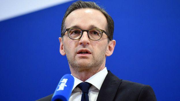 Ministro del Interior Heiko Maas