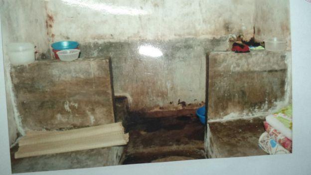 Phòng giam nơi Đỗ Đăng Dư bị giam giữ