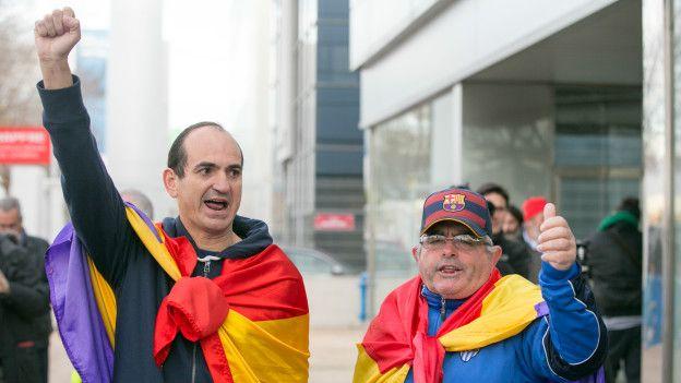 Противники монархии в Испании