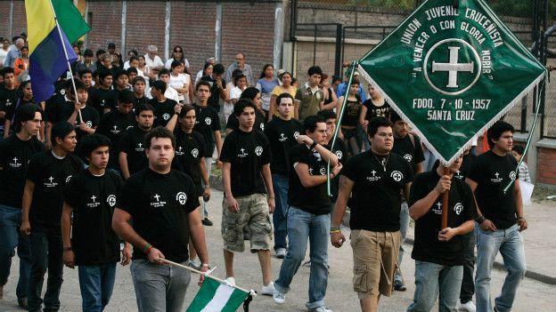 Unión Juvenil Cruceñista en 2008