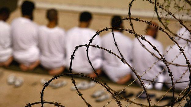 Presos en Guantánamo