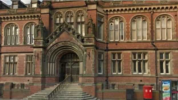 Edificio de los tribunales en York