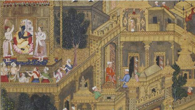 Lord Krishna en la Ciudad Dorada
