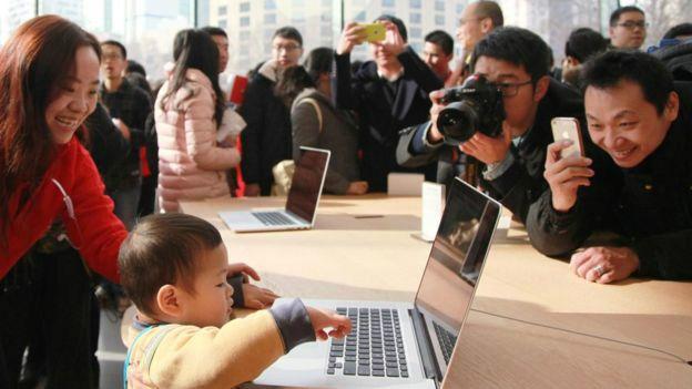 Tienda Apple en China