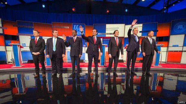 Дебати між претендентами-республіканцями відбулися в штаті Айова ще до попередніх виборів там