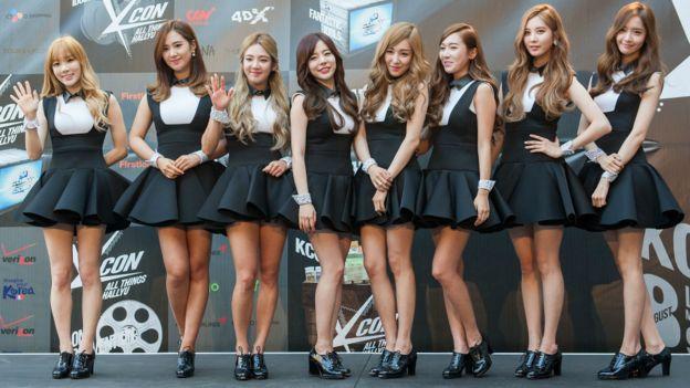 少女時代是韓國在國際上知名的女團之一。