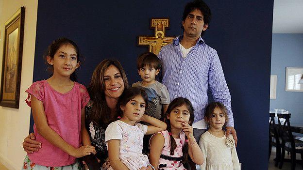 Famiia en Ave Maria, Florida