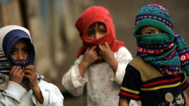 Niños migrantes en un centro de acogida en Roma