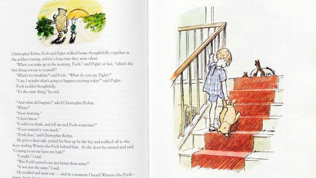 Una página de Winnie the Pooh