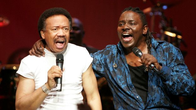 Maurice White y Philip Bailey
