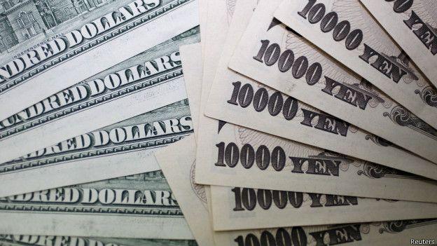 Dolar y yen