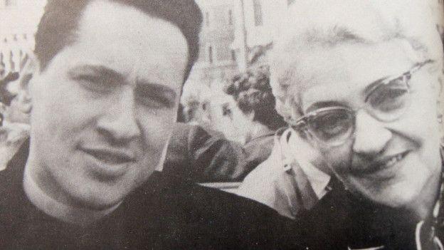 Camilo Torres y su madre