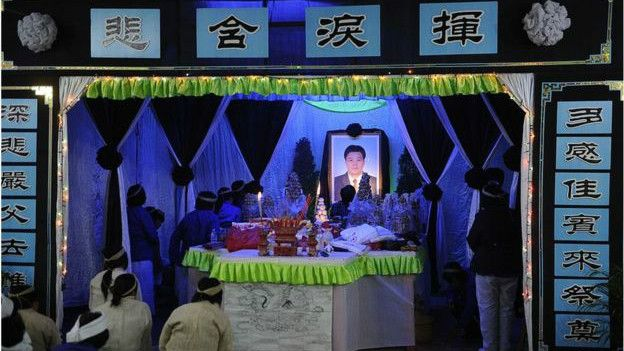 Funeral en China