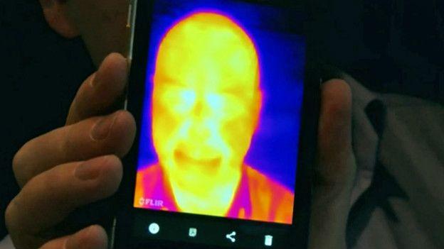 Selfie termal