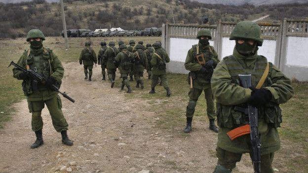 Военные в масках