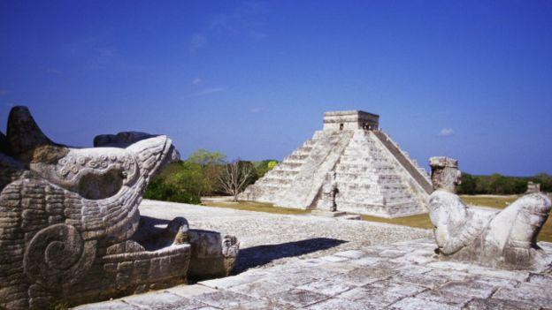 Chac-Mool del Templo de los Guerreros