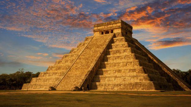 El castillo de Chichen Itzá