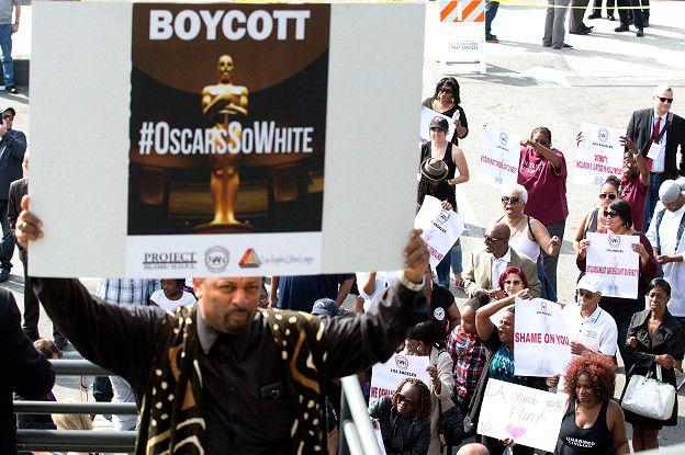 Protesta Oscar