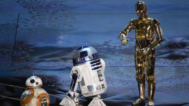 Los robots de Star Wars