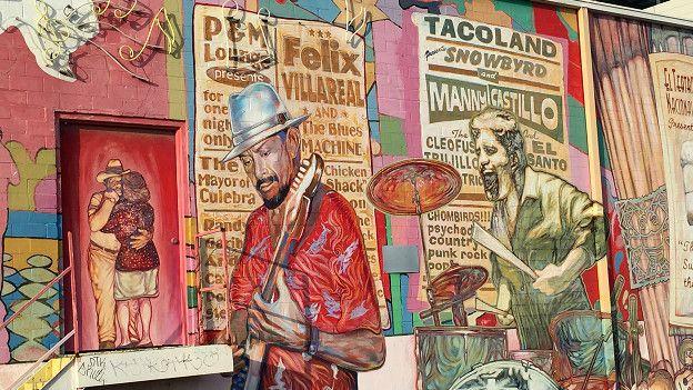 Mural mexicano en San Antonio