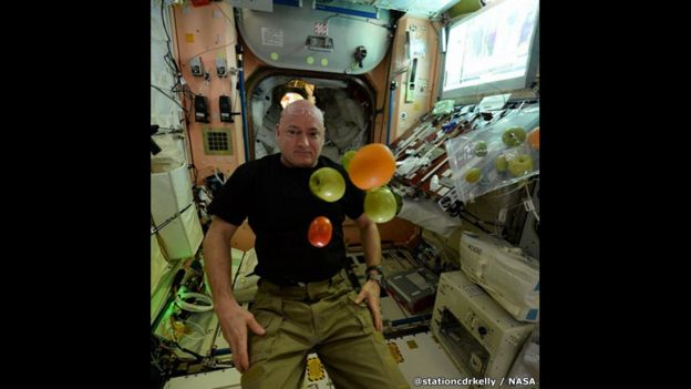 Retrato de Scott Kelly