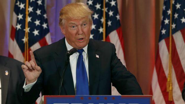 美国总统候选人特朗普